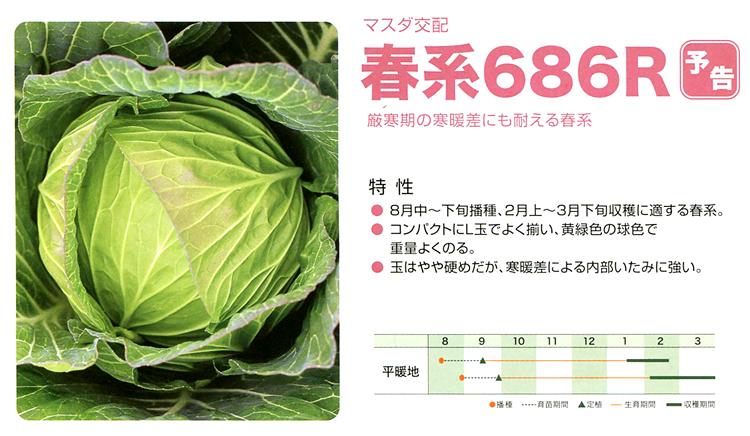 春系686R